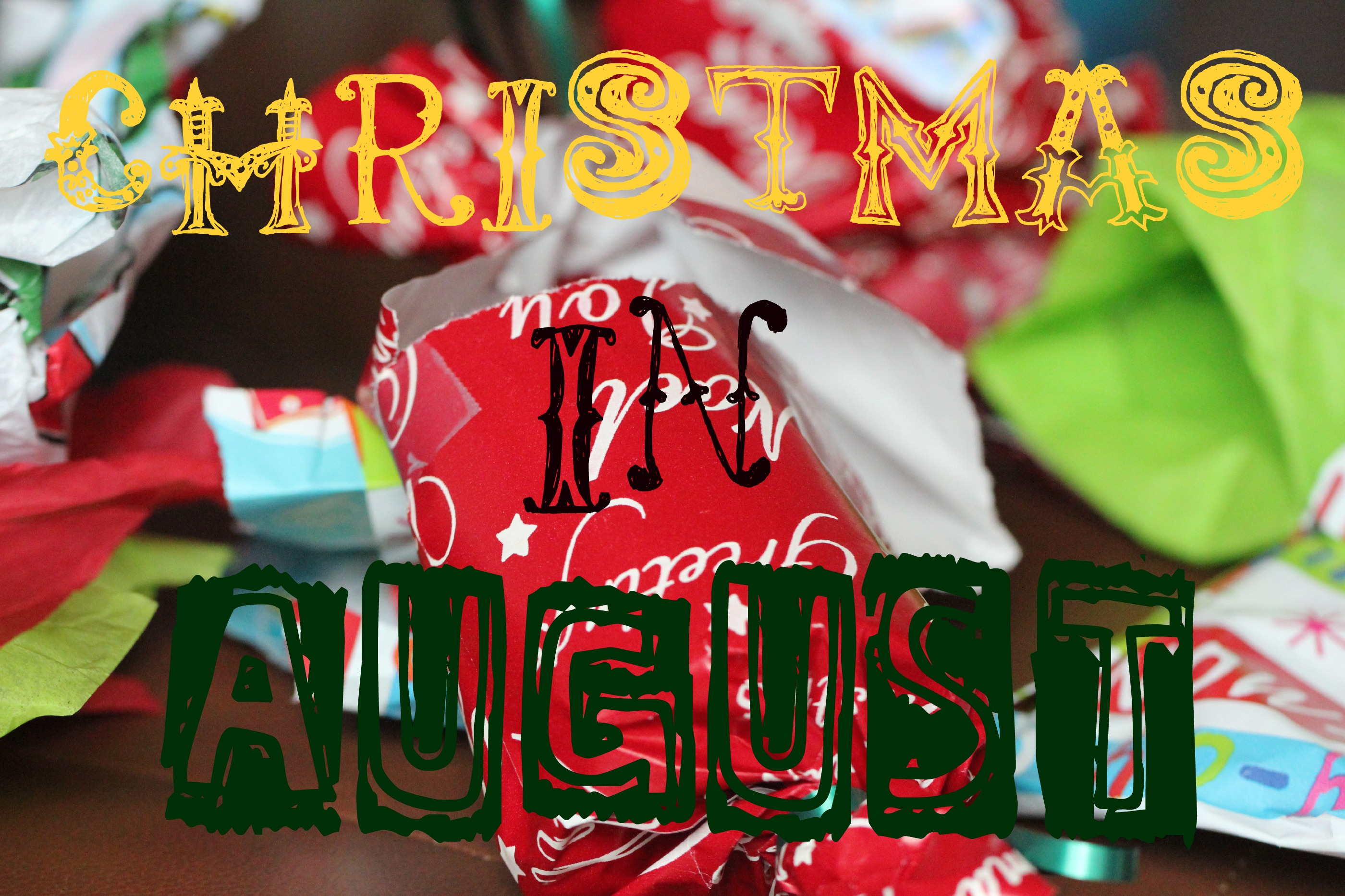 Christmas In August Poster.Christmas In August With Paula S Ham