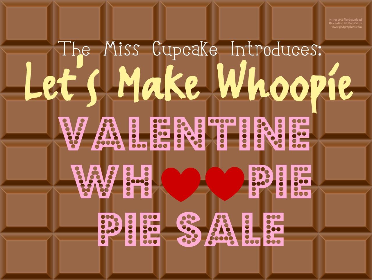 Valentine's Whoopie Pie Sale